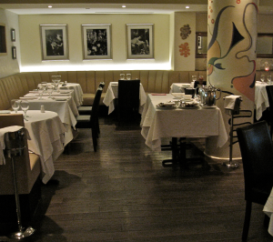 Incognito's Elegant Dining Room