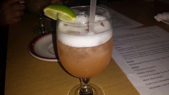 Fresh Cantaloupe Margarita