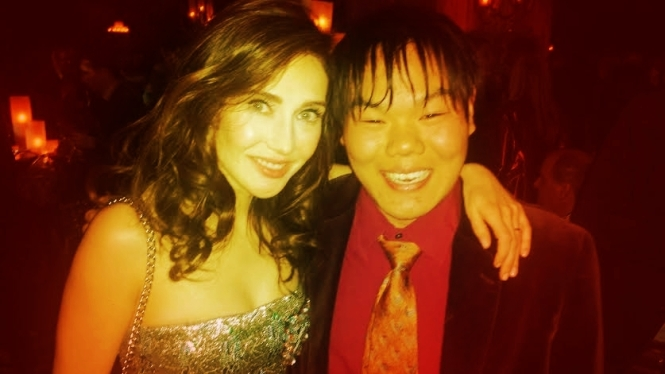 A Fiery Photo with Lady Melisandre, the Red Priestess (Carice Van Houten).