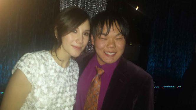 Schmoozing with Shae (Sibel Kikelli)!