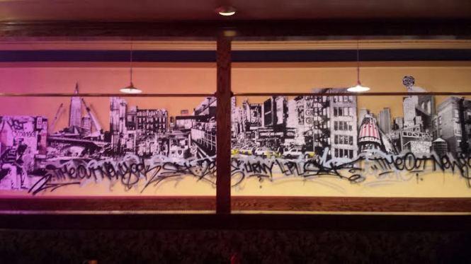 "Mural by Fernando ""Ski"" Romero."