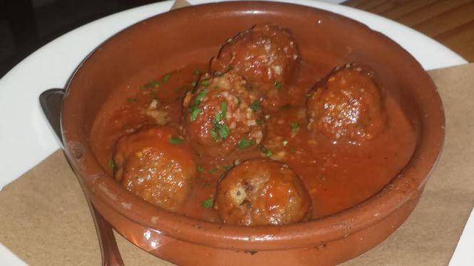Meatballs Al Sugi di Pomodoro
