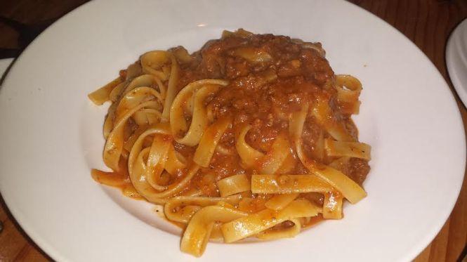 Tagliatelle Artigianali with Classic Bolognese Ragu