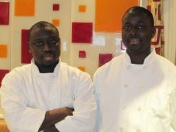 Chef Cisse and his cousin, Chef Chekh
