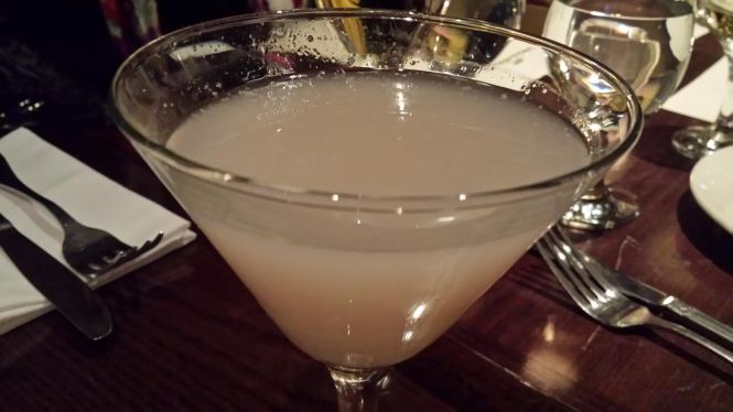 Lychee Martini. As sweet as it sounds!