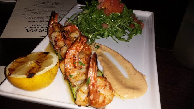 Crevette Grille - Grilled Shrimp
