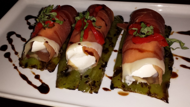 Prosciutto Wraps with Burrata