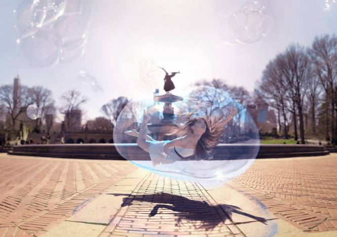 Personal Bubble by James Miille